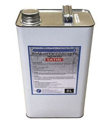 Pattern Imprinted Concrete Sealer - Satin (5Ltr)